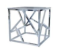 Журнальный стол стекло-металл 5501