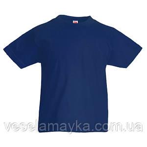 Темно-синяя детская футболка (Комфорт)