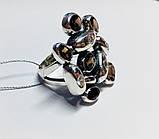 Масивне кільце в сріблі з раухтопазами Амидея, фото 3