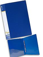 Папка-скоросшиватель А4 пластиковая ECONOMIX CLIP A E31201 синий