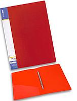 Папка-скоросшиватель А4 пластиковая ECONOMIX CLIP A E31201 красный