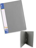 Папка-скоросшиватель А4 пластиковая ECONOMIX CLIP A E31201 серый