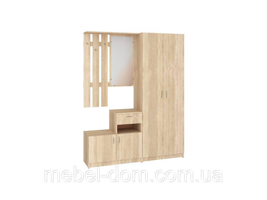 Прихожая Ивона, вешалка+шкаф