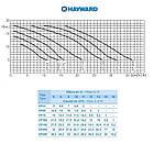 Насос Hayward SP2505XE83E1 EP 50 (380В, 7,5 м3/год, 0.5 HP), фото 3