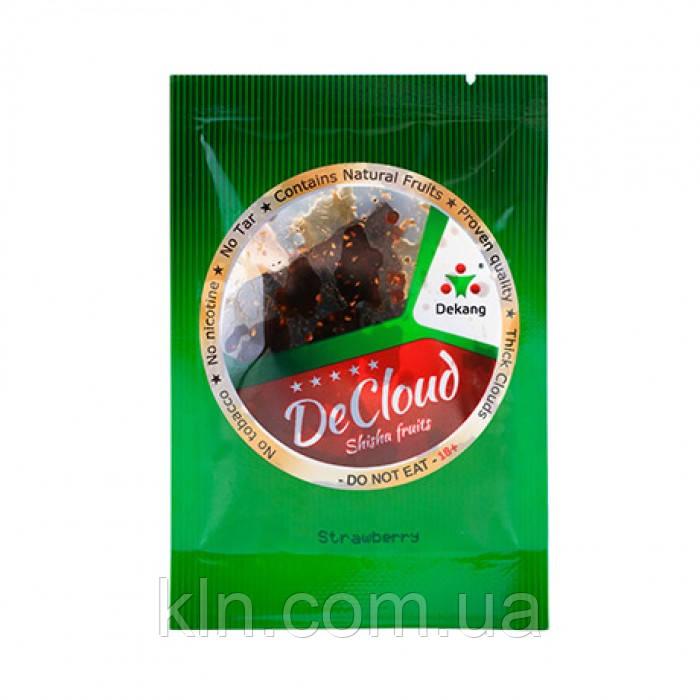 Фрукты для кальяна DeCloud клубника 15 грамм без никотина