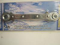 Ключ храповый под вентили 1/4''3/8'', 3/16''5/16''.