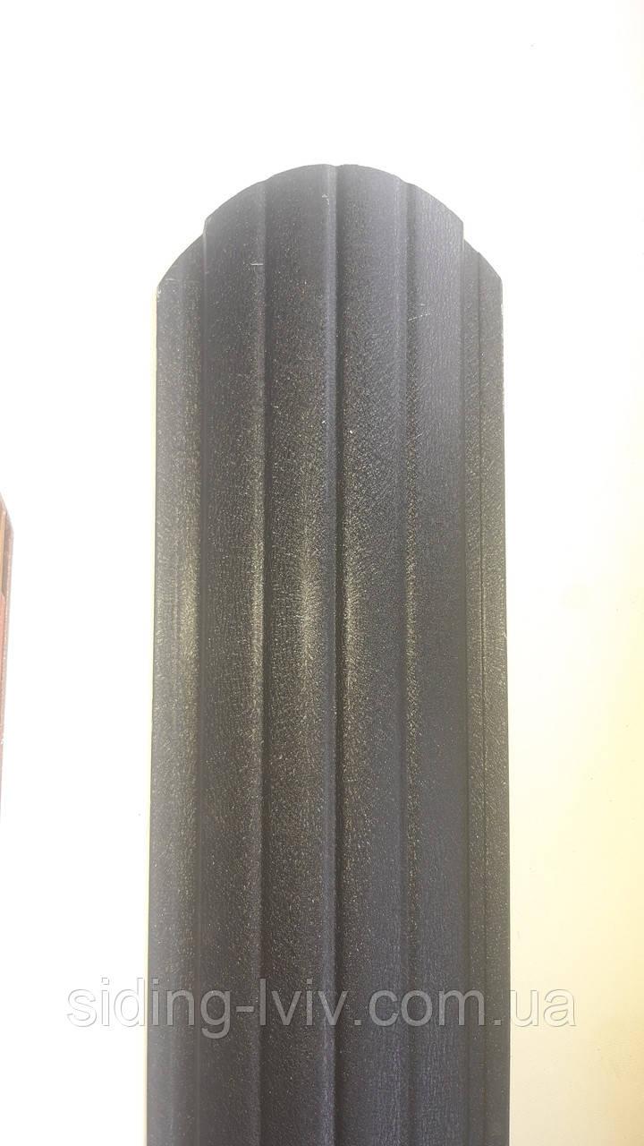 Євроштахети 105 мм Матовий односторонній Arcelor Mittal Німеччина, товщина 0,5 (штахетник металевий)
