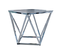 Журнальный стол стекло-металл 5502