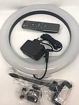 Селфи светодиодное  кольцо на штатив диаметр 29 см и пульт для управления + Подарок штатив 3110 1 м, фото 2