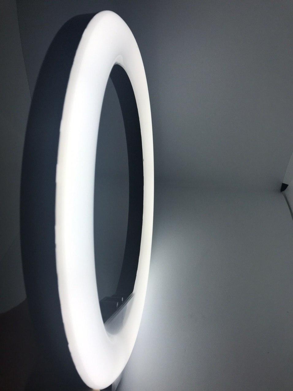 Селфи светодиодное  кольцо на штатив диаметр 29 см и пульт для управления + Подарок штатив 3110 1 м