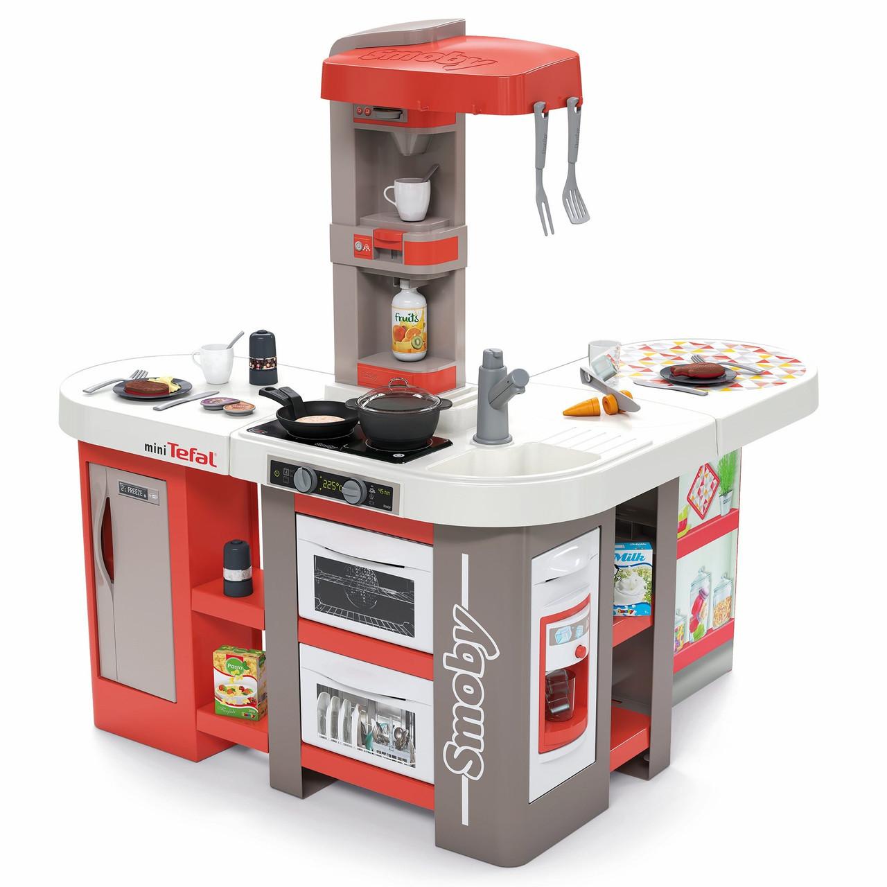 Детская интерактивная игровая кухня Tefal Studio XXL Smoby 311046 для детей