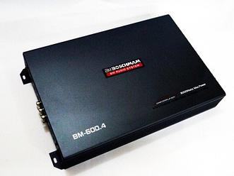 Усилитель звука 8000 вт дляавтомобиляBoschmann BM-600.4 BM Audio