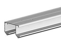 Направляющая рельса Valcomp Horus для подвесной раздвижной системы шкафа - купе 1,5 м (214-139)