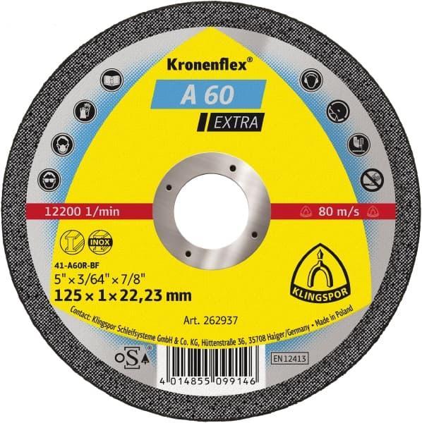Круг відрізний 125 x 1,0 x 22  Klingspor Kronenflex A 24 Extra
