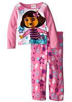 Флисовая пижама для девочки Dora the Explorer  (США) 2Т