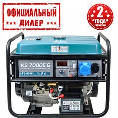 Генератор газ/бензин Konner&Sohnen KS 7000Е G (5.5 кВт)