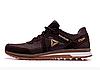 Мужские кожаные кроссовки Reebok SPRINT TR brown коричневые