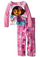 Флисовая пижама для девочки Dora the Explorer  (США) 2Т 86
