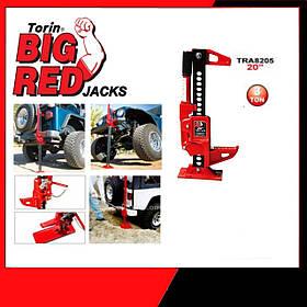 Реечный домкрат для квадроцикла, внедорожника (Хайджек Hi jack) 3т 125-318мм   TORIN  TRA8205