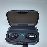 Беспроводные наушники J16 BT LCD TWS Super Bass с повер банком