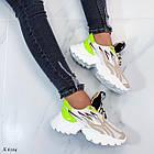 Женские кроссовки комбинированного цвета, из текстиля/эко кожи 36 ПОСЛЕДНИЕ РАЗМЕРЫ, фото 2