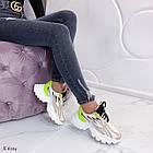 Женские кроссовки комбинированного цвета, из текстиля/эко кожи 36 ПОСЛЕДНИЕ РАЗМЕРЫ, фото 5