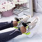 Женские кроссовки комбинированного цвета, из текстиля/эко кожи 36 ПОСЛЕДНИЕ РАЗМЕРЫ, фото 4