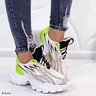Женские кроссовки комбинированного цвета, из текстиля/эко кожи 36 ПОСЛЕДНИЕ РАЗМЕРЫ, фото 8