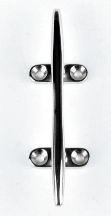 Утка для швартовки  200мм Hollow cleats in s.steel, фото 2