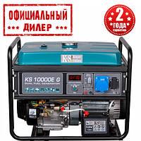 Газобензиновый генератор Konner&Sohnen KS 10000E G (8 кВт)