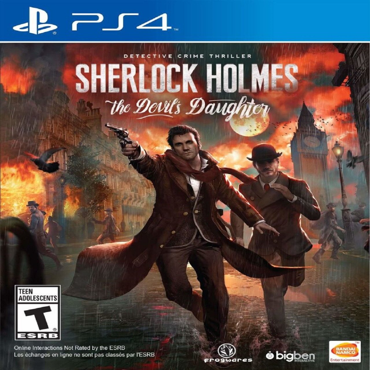 Sherlock Holms: The Devils Daughter SUB PS4
