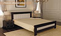 """Ліжко деревяне """"Валенсія"""""""