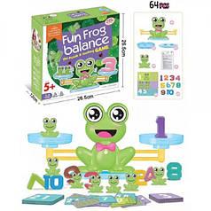 Настольная игра Баланс Весы Лягушка Fun Frog balance