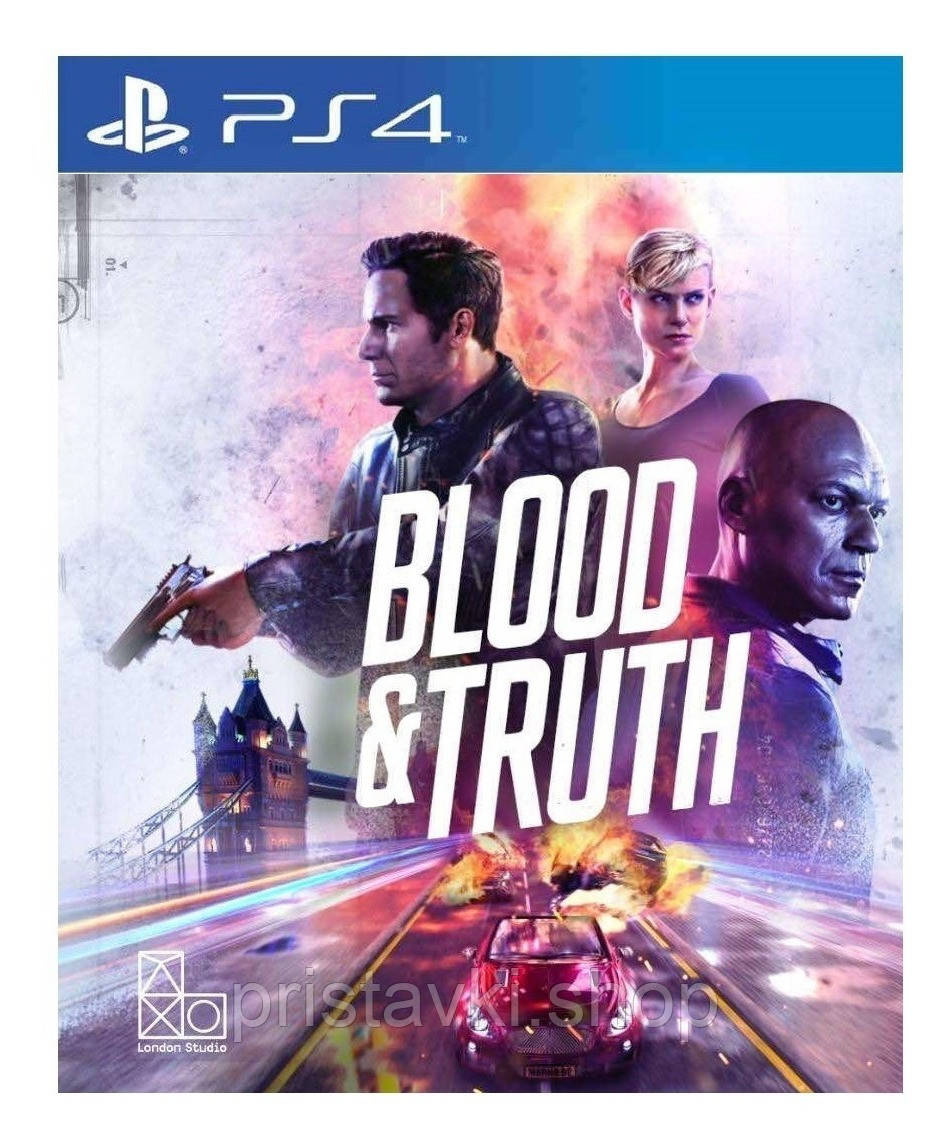 Blood & Truth PS4 \ PS5