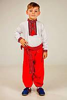 Шаровары красные на мальчика , фото 1
