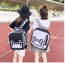 Оригинальные 2Д 2D рюкзаки, фото 2