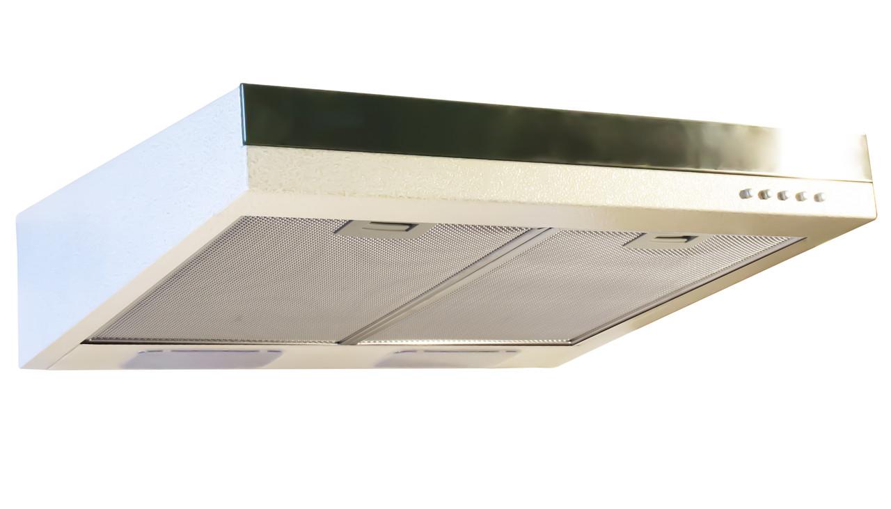 Витяжка (ProfitM) Плоска №3 фільтр (420) 60/нерж/ білий ант