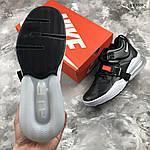 Мужские кроссовки Nike Air Force 270 (черные) 1358, фото 3