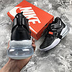 Мужские кроссовки Nike Air Force 270 (черные) 1358, фото 5