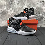Мужские кроссовки Nike Air Force 270 (черные) 1358, фото 7