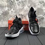 Мужские кроссовки Nike Air Force 270 (черные) 1358, фото 8