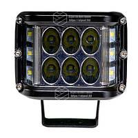 Фара LED прямокутна 60W, 12 ламп, 10/30V 6000K довжина: 98 мм, товщина: 80 мм