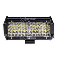 Фара LED прямокутна 144W, 48 ламп, 10/30V 6000K довжина: 165 мм, товщина: 80 мм