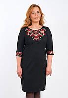 Вышитое женское платье большого размера, фото 1