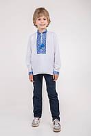 Вышитая сорочка на мальчика, фото 1
