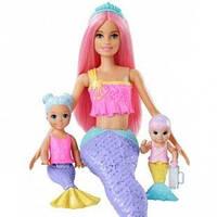 """Кукла набор Barbie """"Детская комната русалочек"""" серии Дримтопия FXT25 (Оригинал)"""