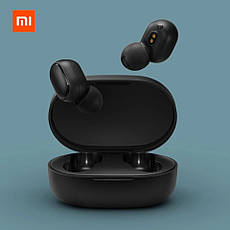 Беспроводные наушники Xiaomi Mi True Wireless Earbuds Basic (AirDots) Оригинал Black, фото 3