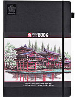 Блокнот Sakura Sketch, 140 г/м2, 21х29,7 см, 80 л, кремово-білий папір, Sakura 94140005