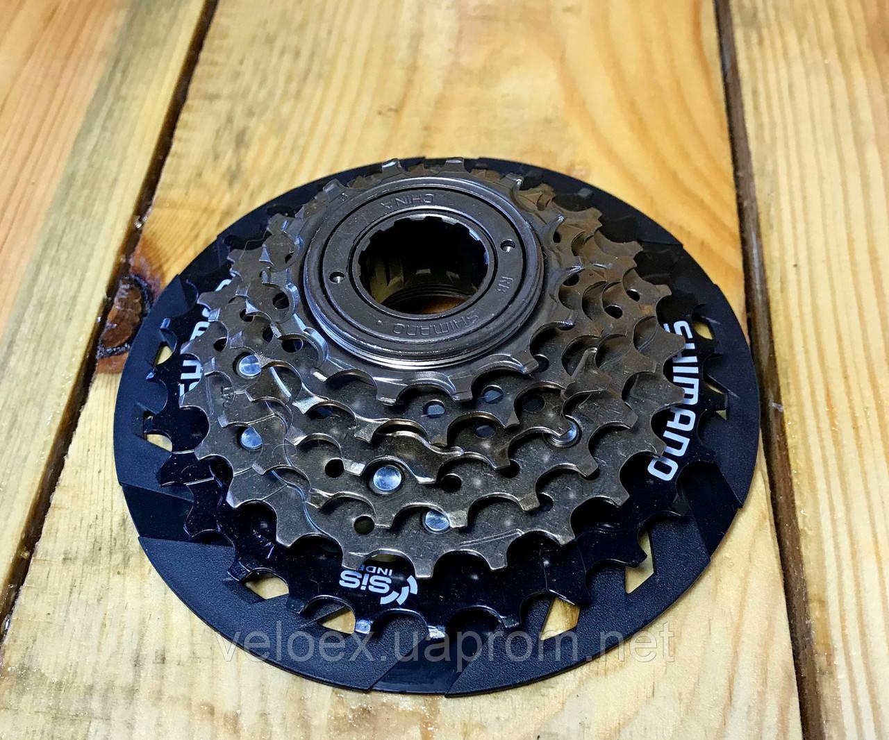 Трещетка Shimano MF-TZ500 6 звезд