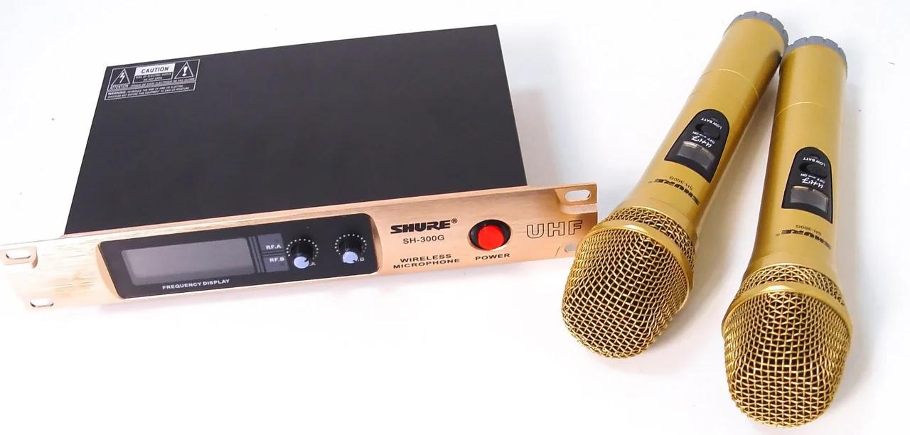 Беспроводная радиосистема с 2мя микрофонами Shure SH 300G
